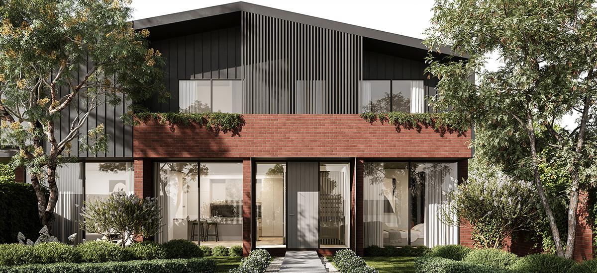 botanica apartment development luxury sustainability environmentally conscious design green facade external exterior garden green
