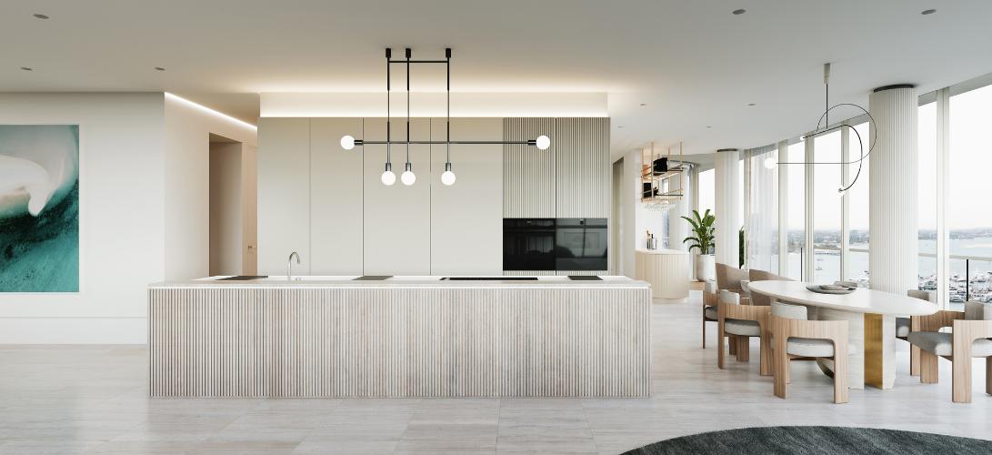 The Monaco kitchen