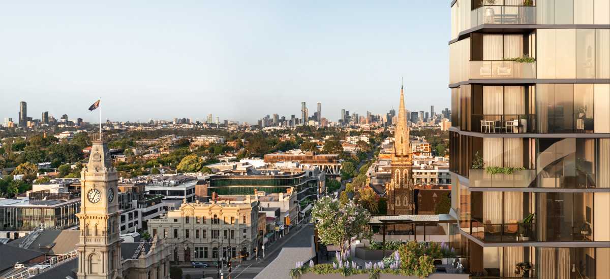 arcade glenferrie road residential apartments and developments melbourne