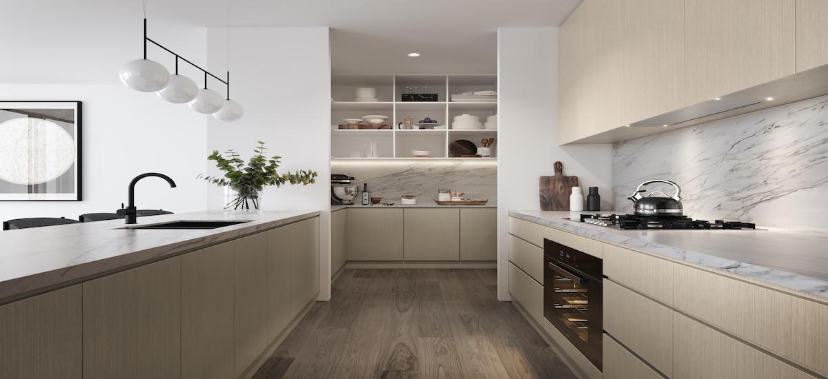 Ivanhoe Gardens kitchen
