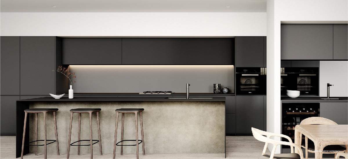artistry melbourne apartments developments luxury high end valcucine kitchen rogerseller