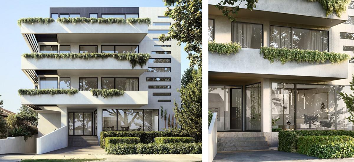 Profile Apartments facade
