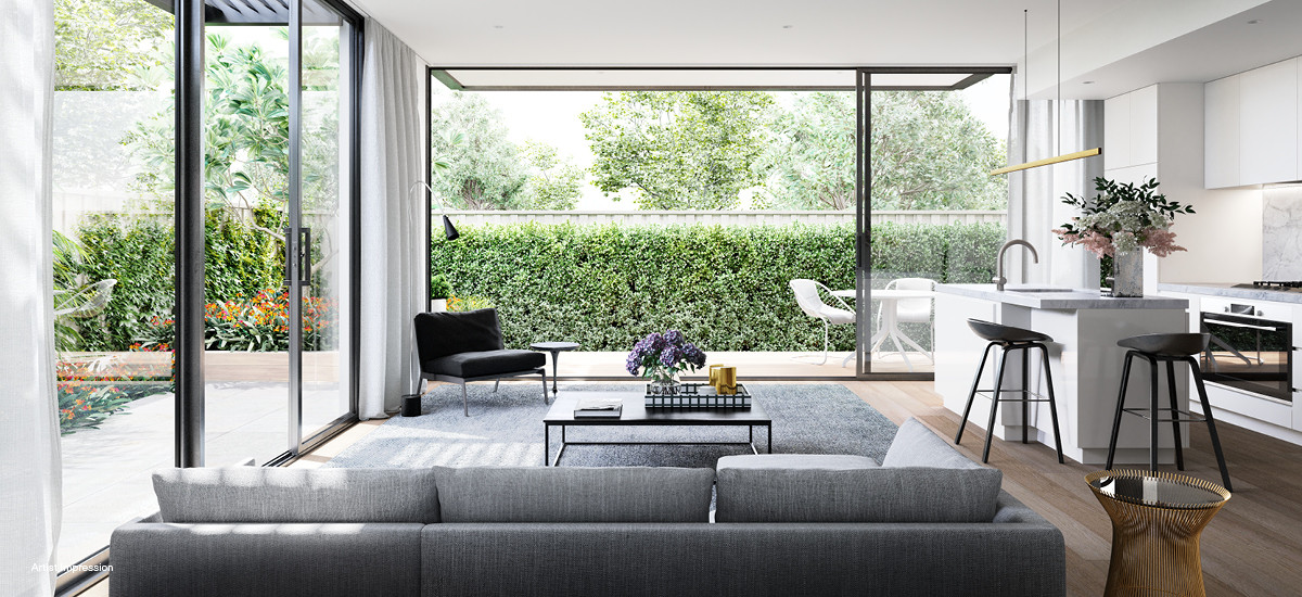 Profile Apartments living