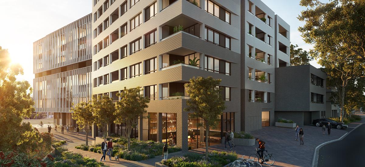 glenarm square glen iris apartments and developments residential victoria melbourne facade streetscape