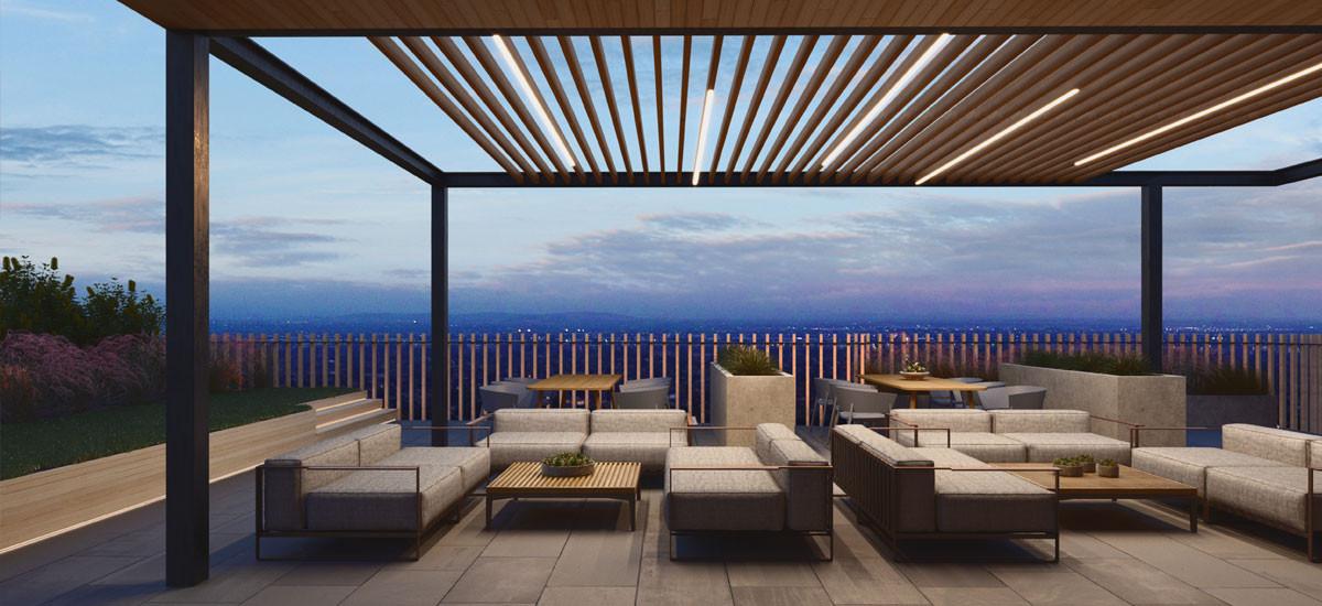 arches maribyrnong apartment development melbourne terrace rooftop balcony outdoor entertaining