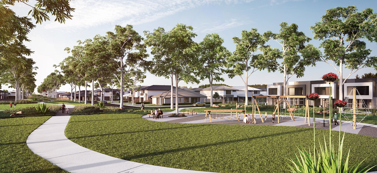 westwood estate greater melbourne victoria apartments and developments master plan community residential