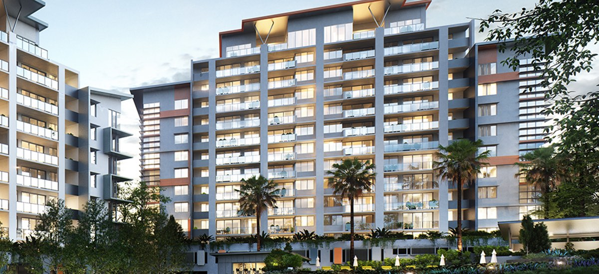 off the plan apartment for sale Cambridge Residences building exterior