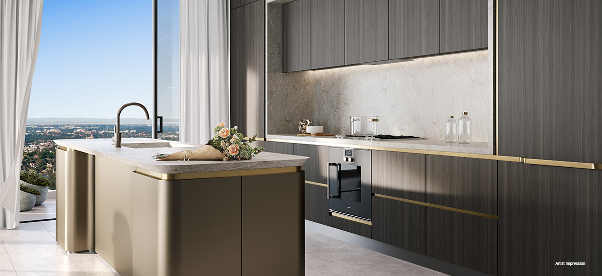 off the plan apartment for sale Eighty Eight kitchen