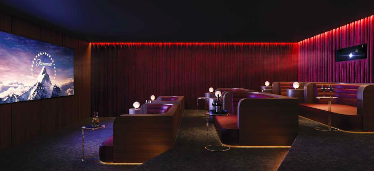 Ivanhoe Gardens cinema - Apartemtns