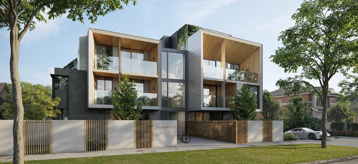 Lumiere Carnegie apartments