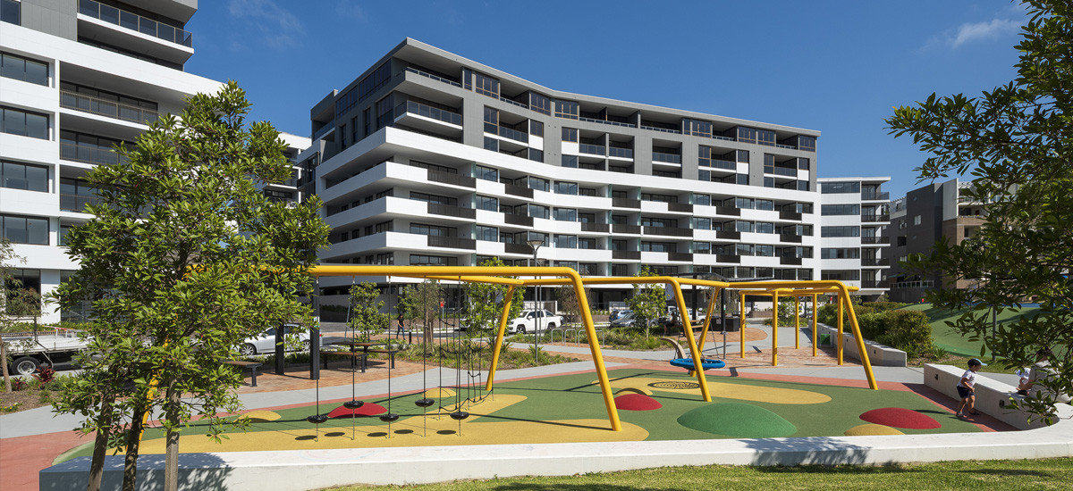One the Waterfront apartments in Wentworth Point