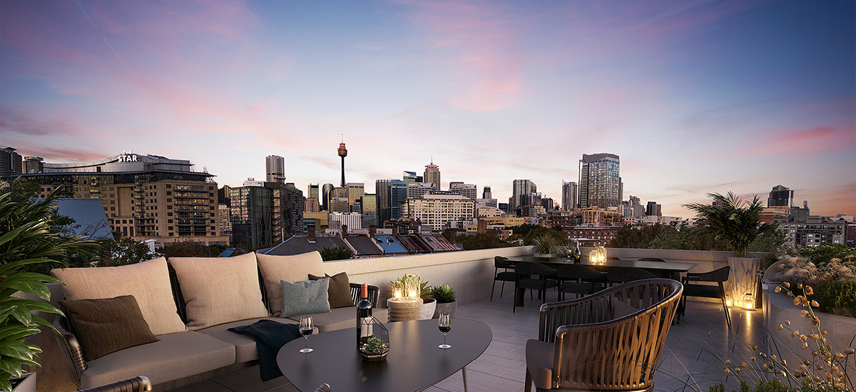 Paragon of Pyrmont rooftop