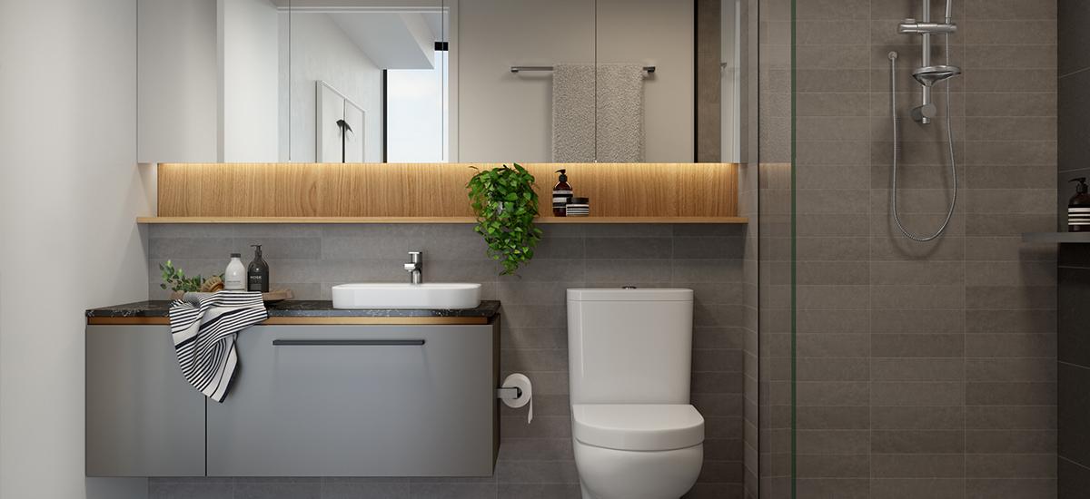 Silk One bathroom