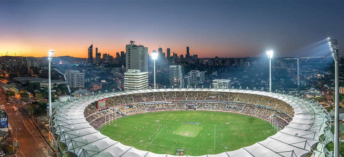 Silk One stadium view