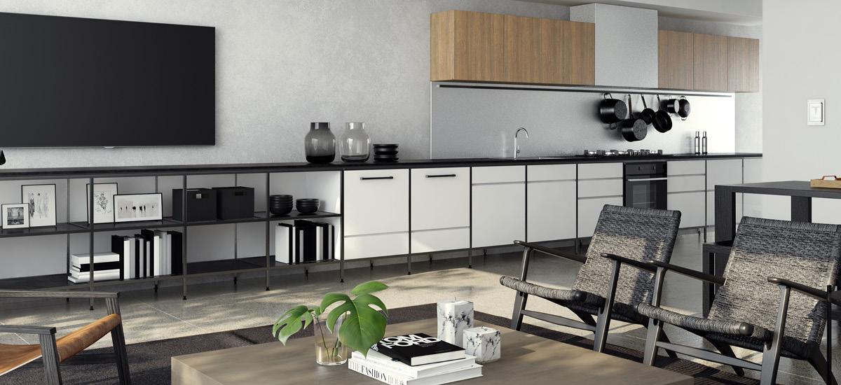 The Gentry kitchen