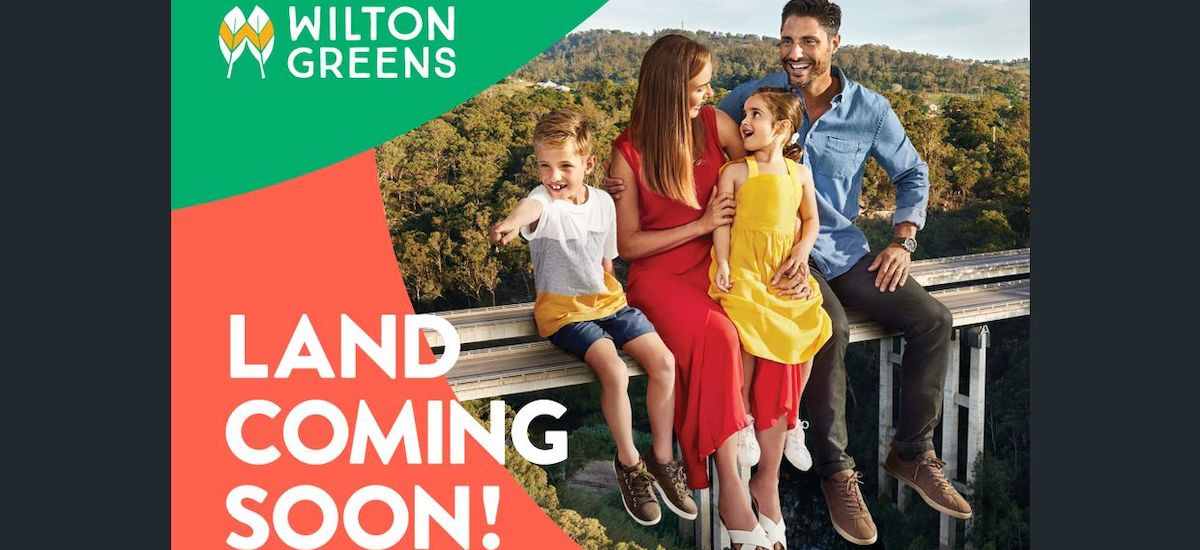 Wilton Green Land coming soon